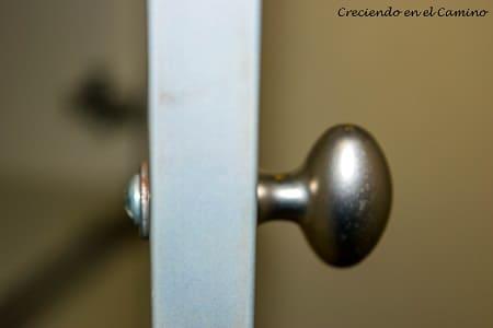 manija puerta de placard de un motorhome