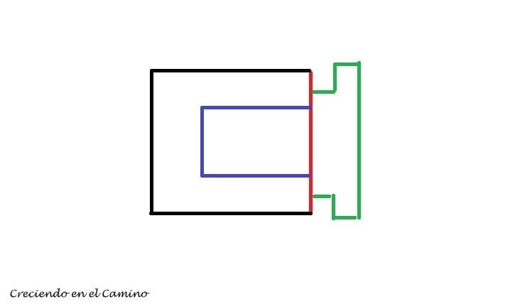 plano para hacer una protección para los caños de salida de un calefactor en un motorhome