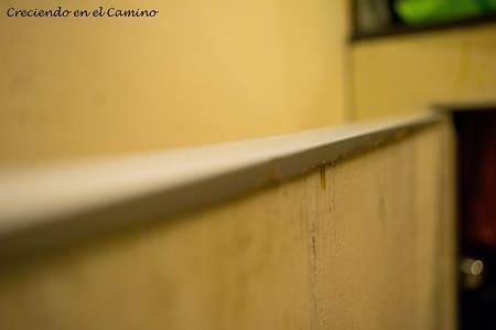 tapacantos para mueble del baño de un motorhome