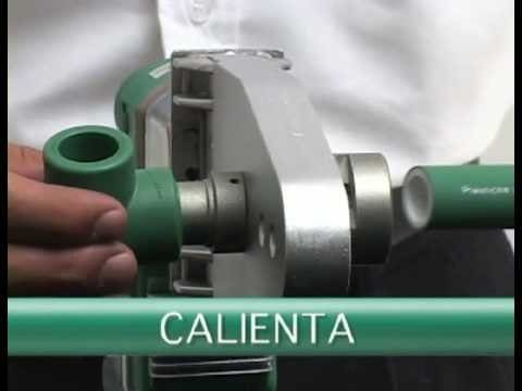 termofusion para cañeria de agua de un motorhome