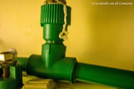 termofusion de cañeria de agua de una casa rodante