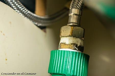 termofusion en cañería de agua de una autocaravana