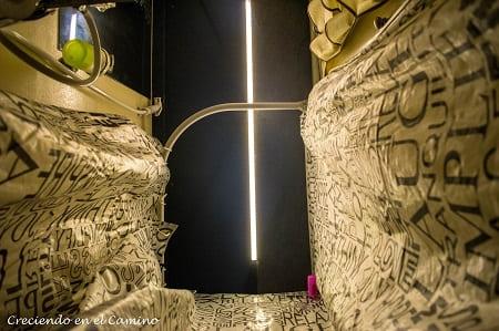 como iluminar el baño de una autocaravana