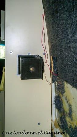 como colocar un calefactor en una casa rodante