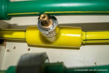 Como hacer una instalación de gas en una casa rodante con termofusión