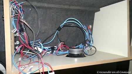 Instalación de cables en un motorhome