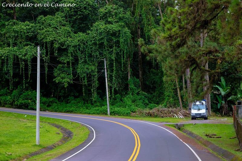 Camino a la frontera de Rio Sereno, Panamá