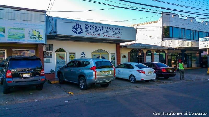 La oficina de Fedpa en David, Panamá