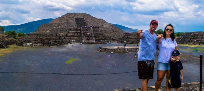 Zona Arqueológica de Teotihuacan, bienvenidos a la cultura Azteca!!!