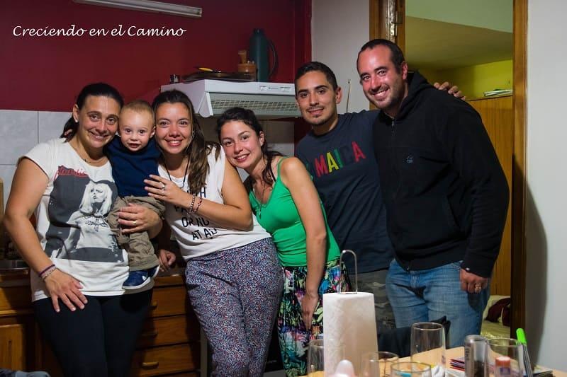 con amigos en ushuaia tierra del fuego