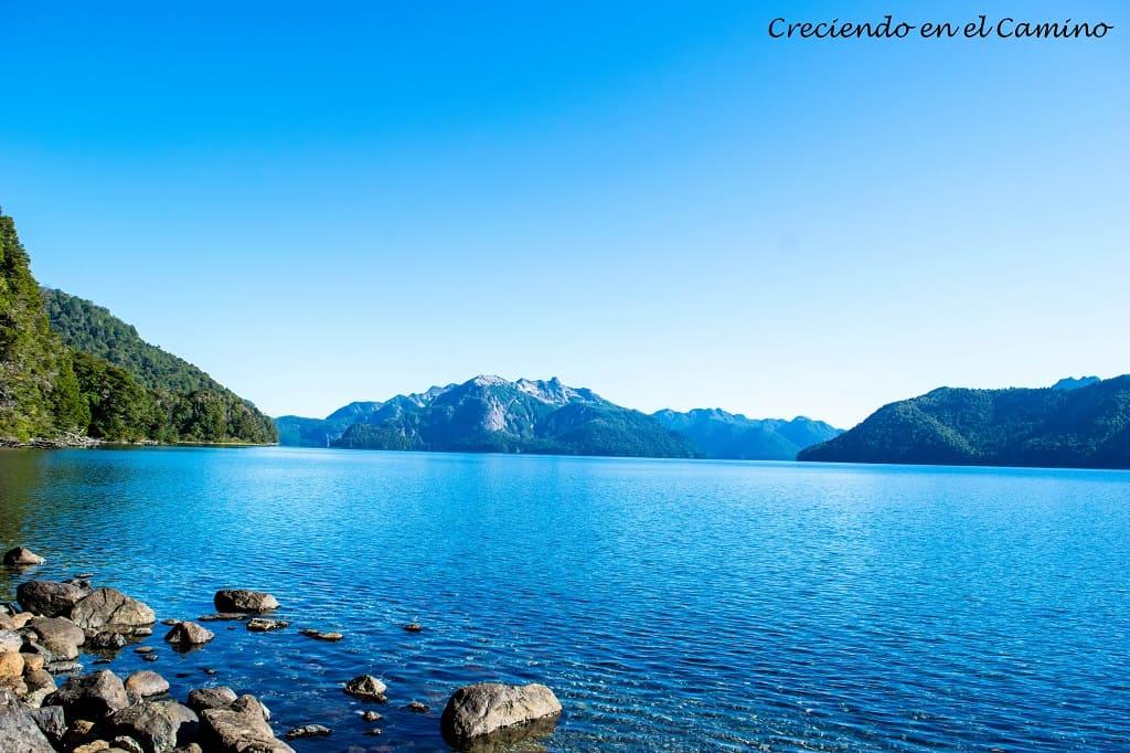 lago tromen, neuquen, argentina