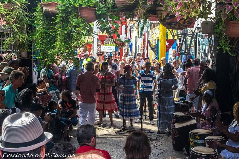 Callejón de Hamel, La Habana, Cuba