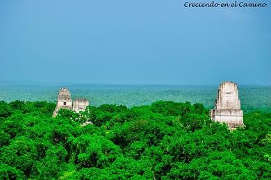 como visitar y que hacer en las ruinas de Tikal en Guatemala