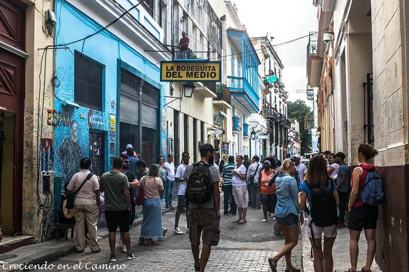 Bodeguita del Medio, La Habana, Cuba
