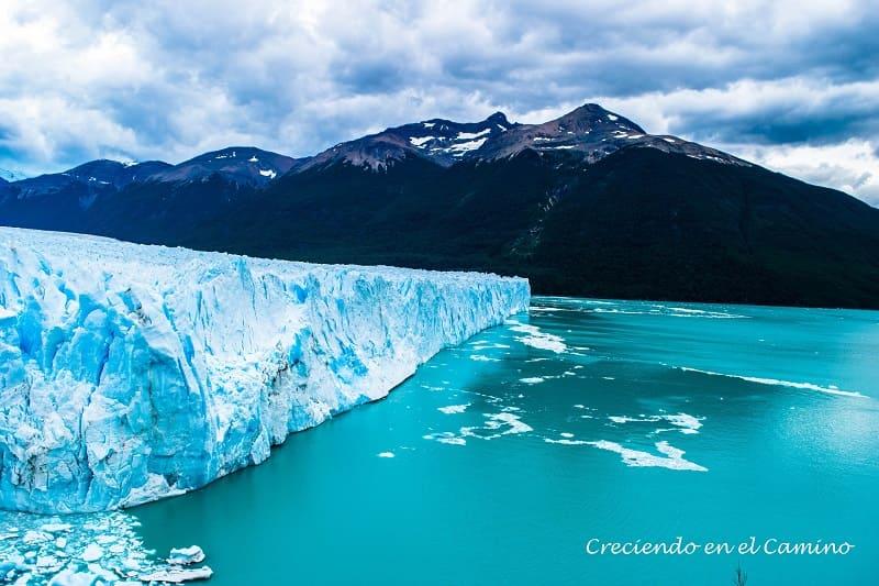 El gran glaciar Perito Moreno