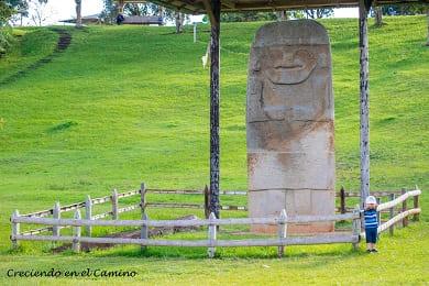 que hacer y visitar en isnos y El Parque Arqueológico Alto de los Ídolos en colombia