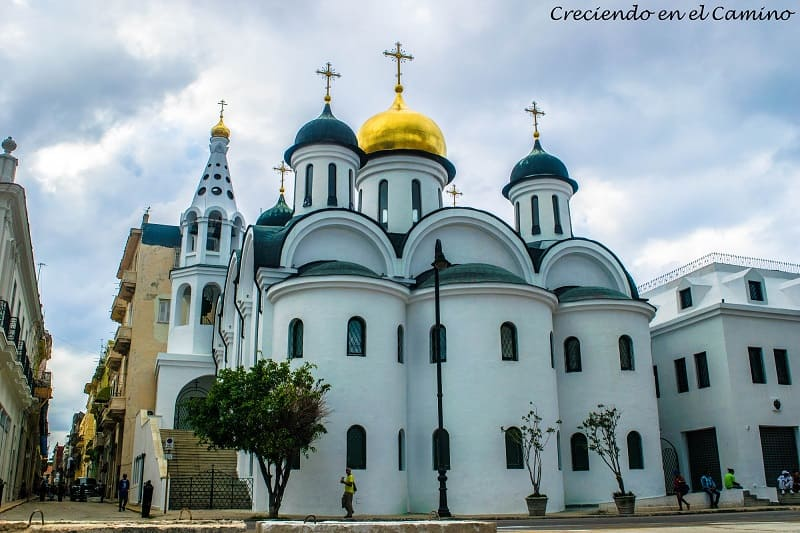 Catedral ortodoxa Nuestra Señora de Kazán, La Habana, Cuba