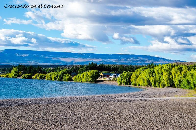 Lago Buenos Aires, Los Antiguos