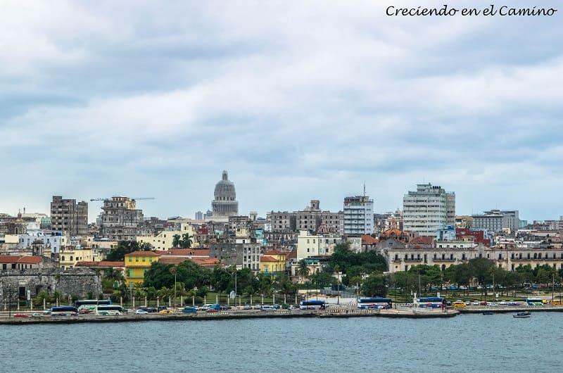 vista de la ciudad de la habana desde el cristo de la habana