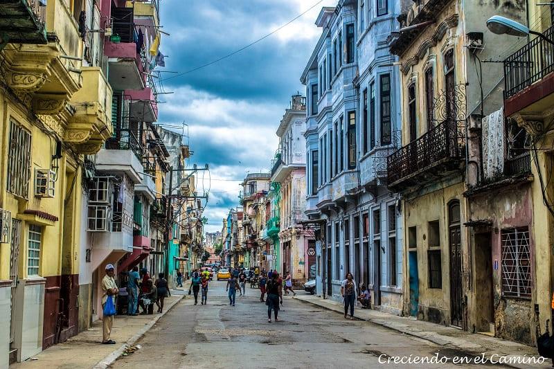 calles de la habana, cuba