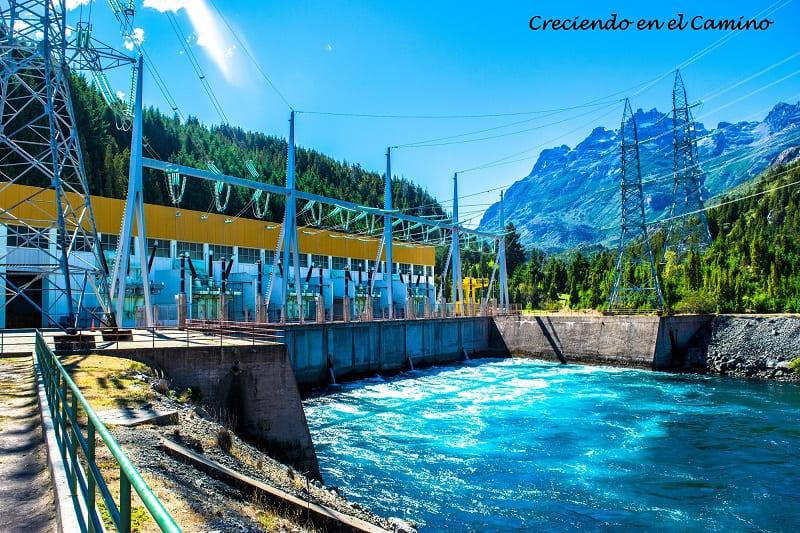 Sala de máquinas, Presa hidroeléctrica Futaleufu
