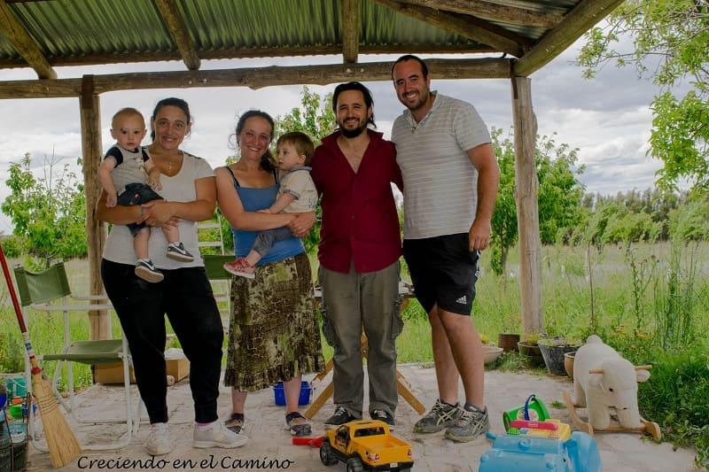 amigos en gaiman argentina