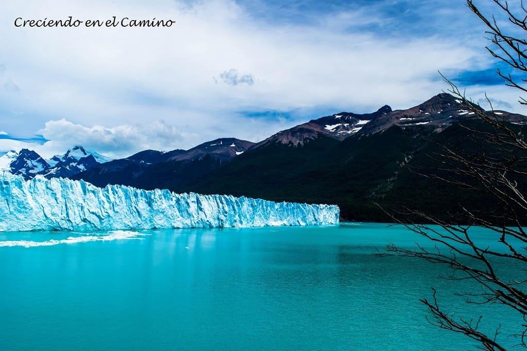 LAGUNA AZUL (SANTA CRUZ) glaciar perito moreno