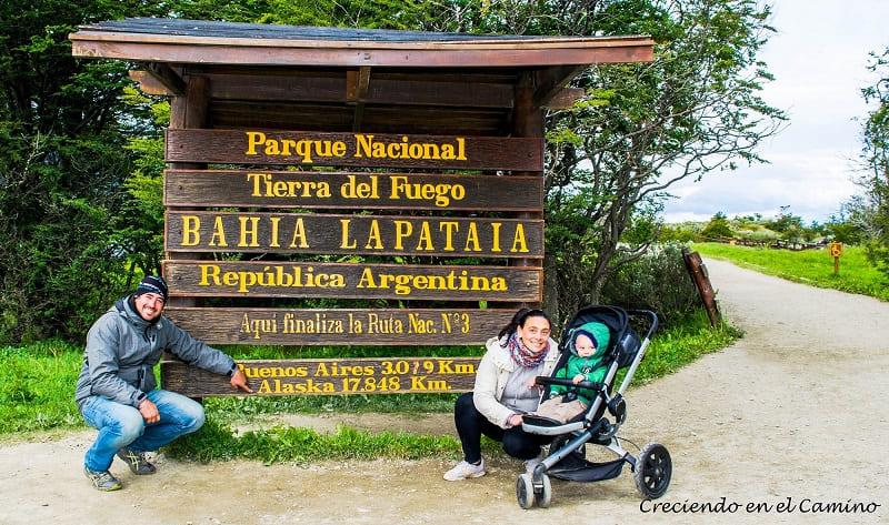 Bahía Lapataia ushuaia argentina