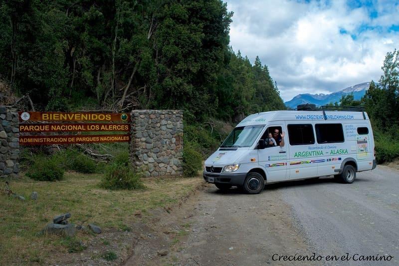 Portada Centro, Parque Nacional Los Alerces