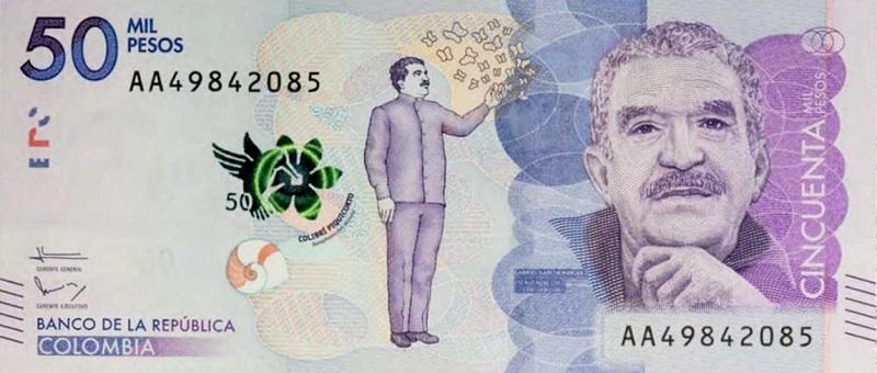 billete de colombia