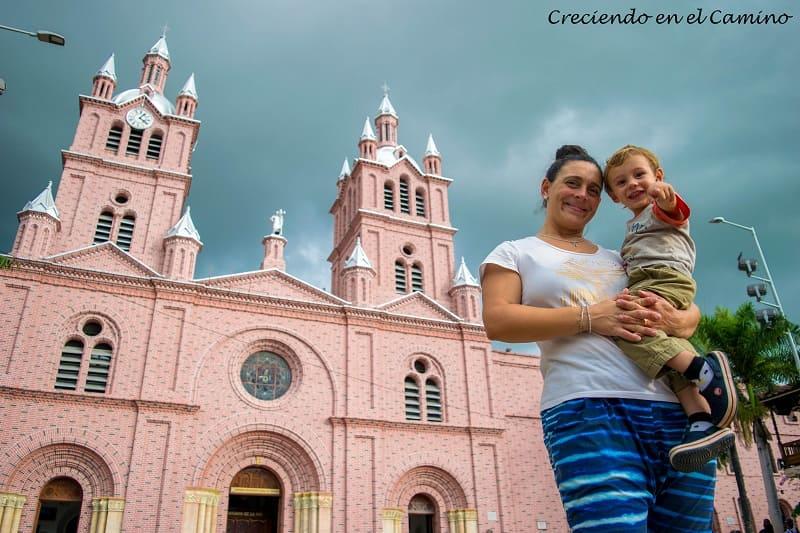 Basílica Menor del Señor de los Milagros en buga, colombia