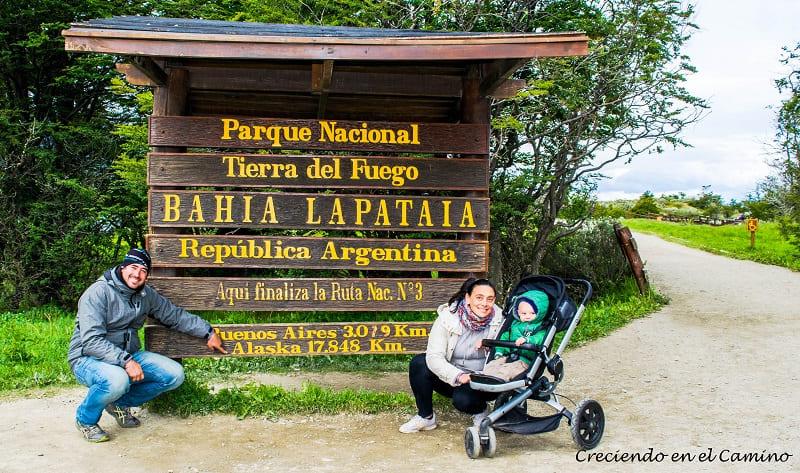 Bahía Lapataia tierra del fuego, argentina