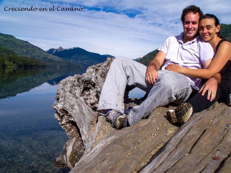 Lago Hermoso, Camino 7 Lagos, Argentina.
