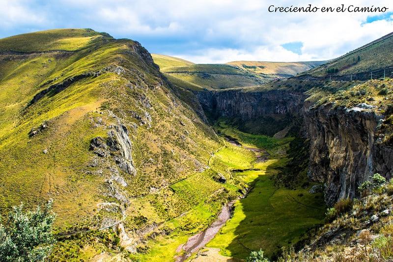 La Chorrera, parque nacional chimborazo ecuador