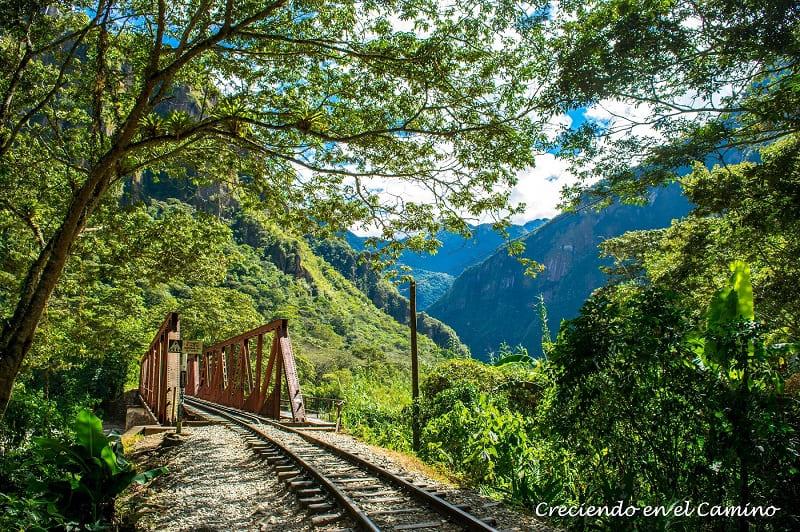 Camino Hidroeléctrica a Machu Pichu