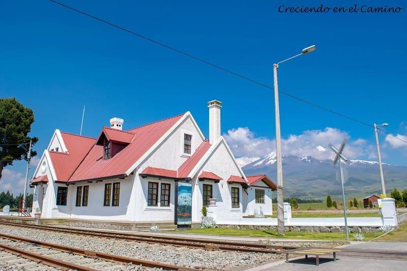 Estación Urbina ecuador