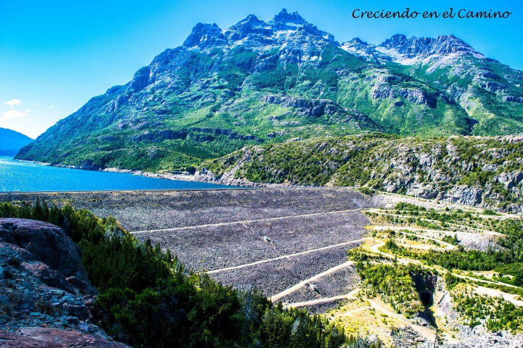 represa de Futaleufu, ruta 40 parque nacional los alerces