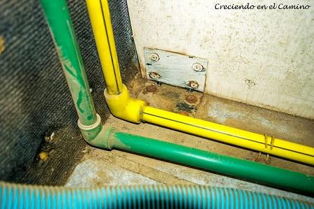 instalación de gas de nuestro motorhome