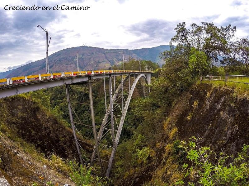 cañón de Salsipuedes, puente davalos ecuador