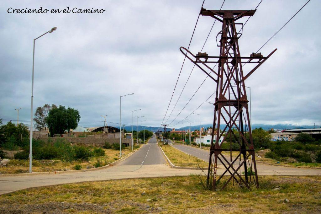 El cable carril ce chilecito ruta 40