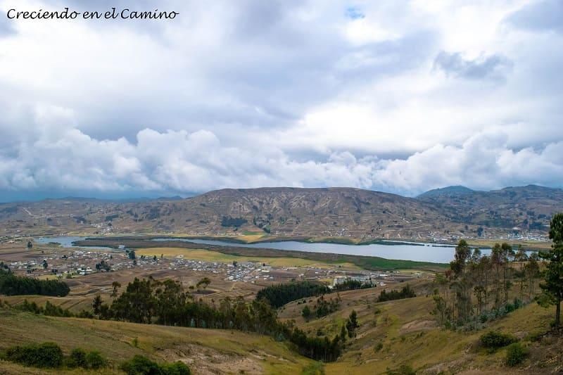 Laguna de Colta, ecuador