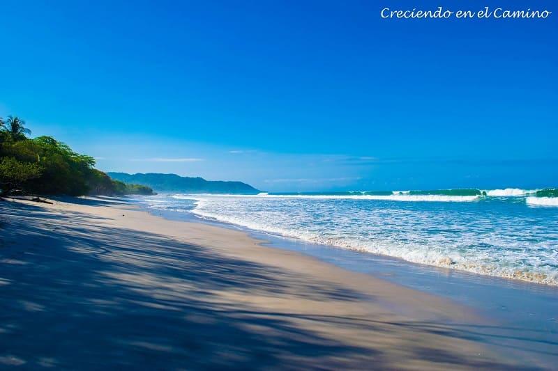 La playa de Santa Teresa costa rica