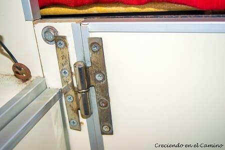 bisagras puerta baul de motorhome
