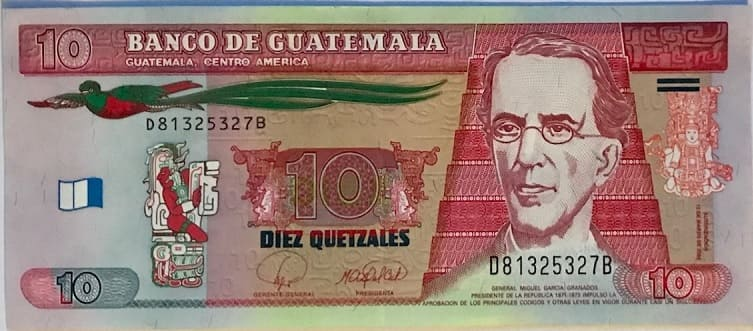 BILLETE GUATEMALA