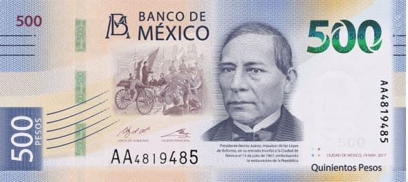 BILLETE DE MEXICO