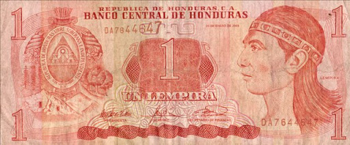billete de honduras