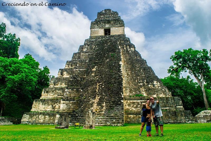 Donde quedan las ruinas de Tikal en Guatemala