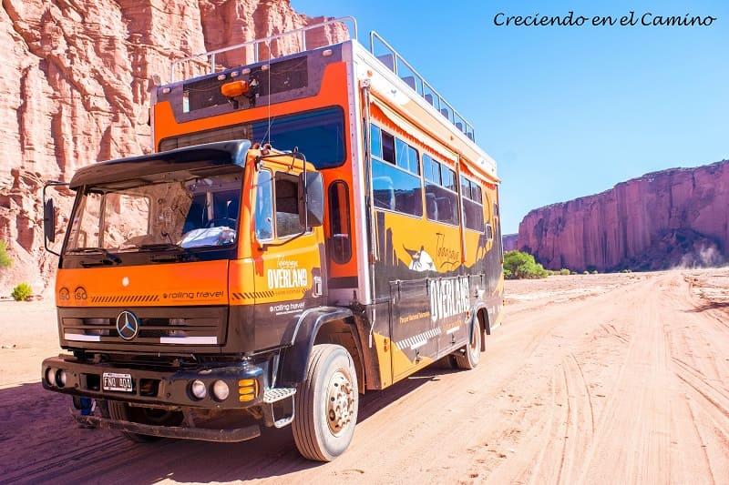 Como recorrer el Parque Nacional Talampaya en Argentina