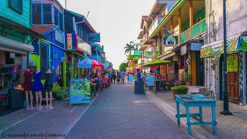 centro de la ciudad de san ignacion en belice